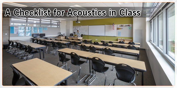a-checklist-for-acoustics-in-class