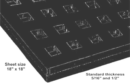 Waffle Pads Manufacturer Amp Supplier Toronto Canada