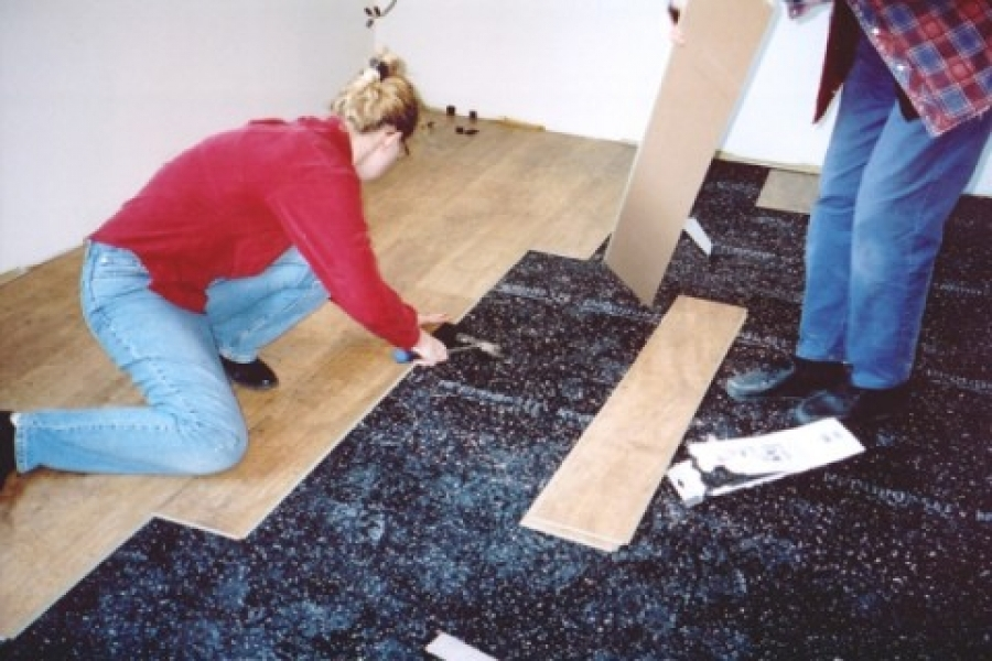 QT Impaction Isolation Underlayment Sound Isolation Underlay Canada - Ceramic tile soundproof underlayment