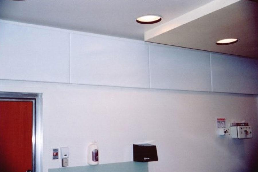 Scrim Wrapped Sound Absorber Amp Moisture Resistant Panels