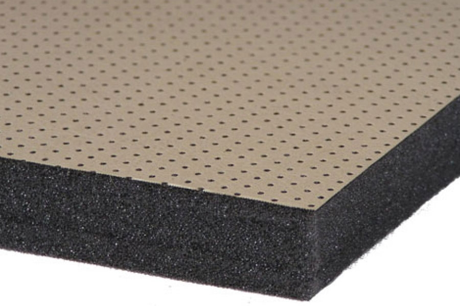 Conasorb v acoustic sound absober foam toronto canada for Best sound barrier insulation