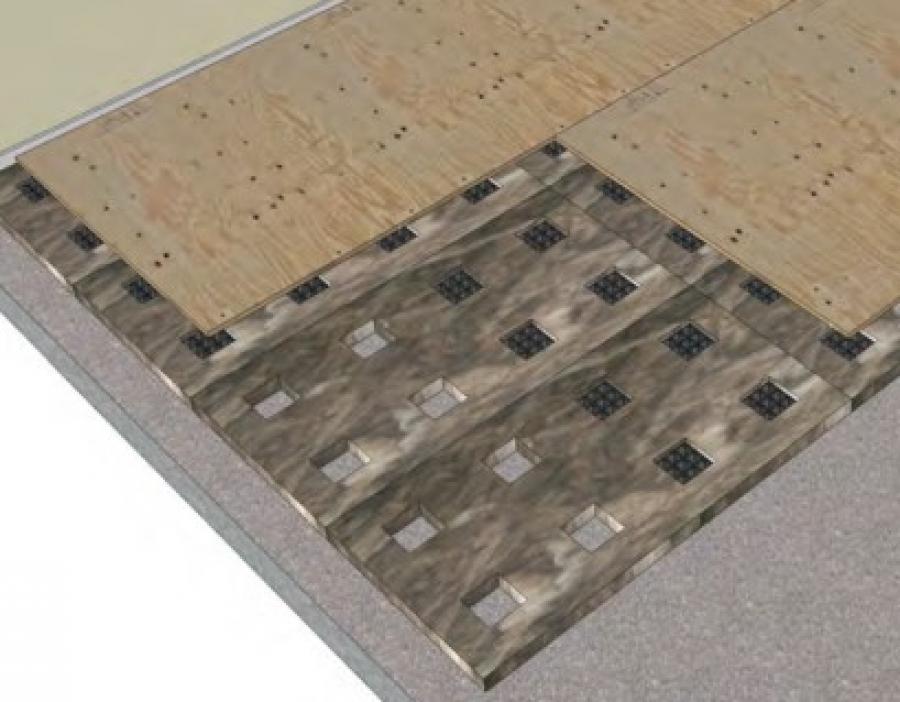 Freedom Step Subfloor Panels Acoustical Floor Panels