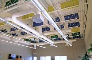 PVC Baffles -Acoustical Sound Absorbing Panels